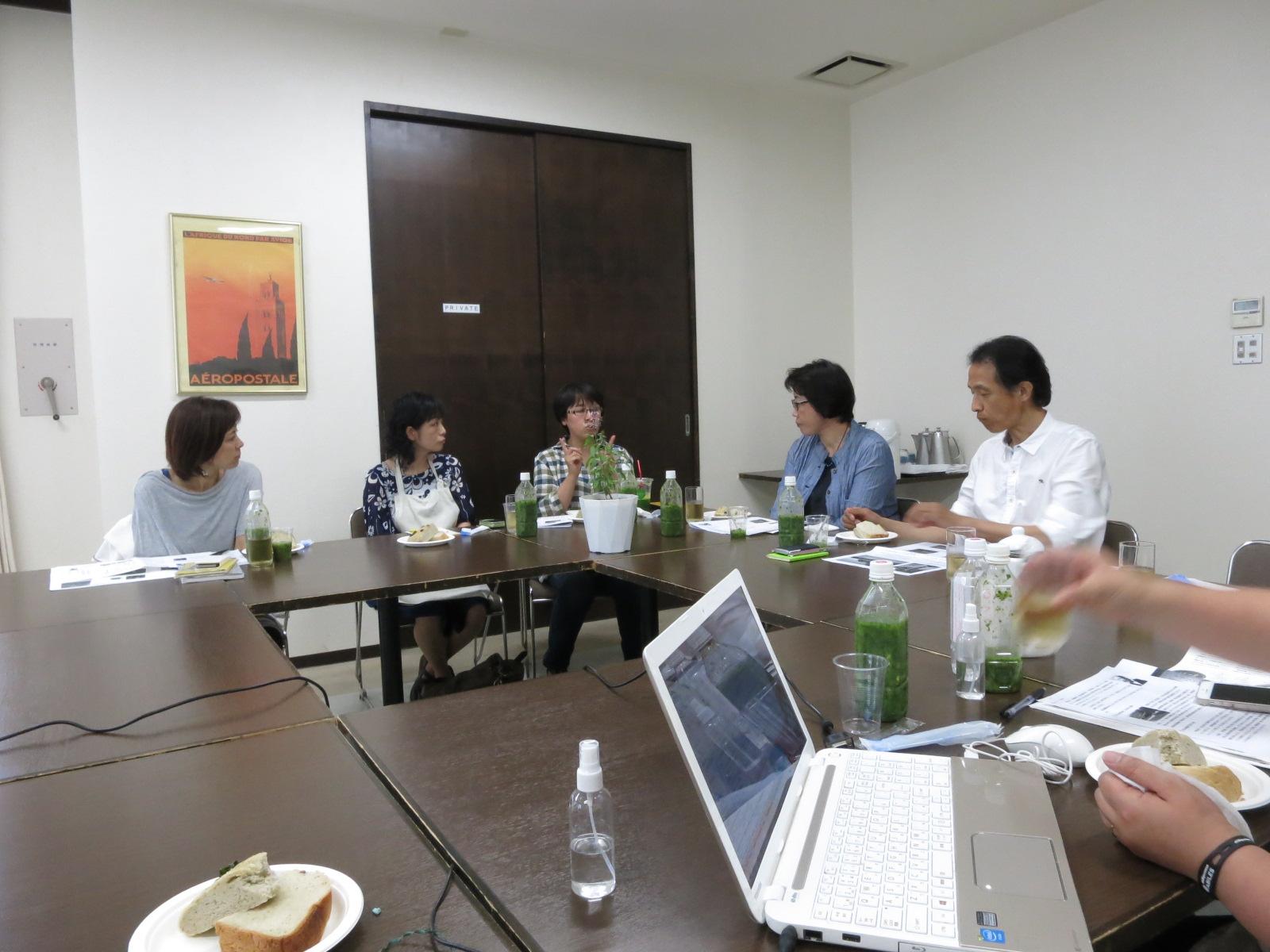 7月14日 北海道の環境の現状とホーリーバジルの役割~プロジェクト説明会~